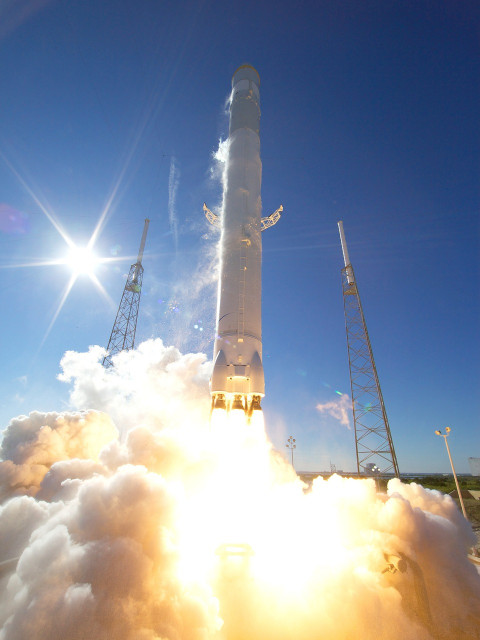 Raketlancering Space X